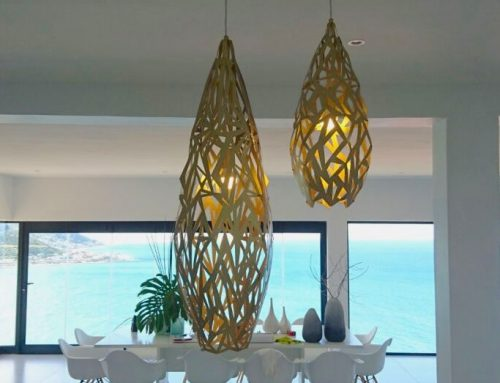 Aluminum Laser Cut Contemporary Lighting Fixtures