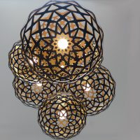 Contemporary Laser Cut Lighting Fixtures 9