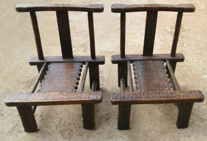 African Dan Chairs