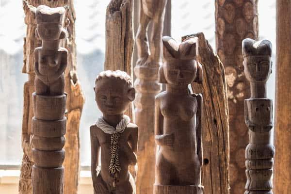 African Home Decor│Makonde Post │African Totem Poles