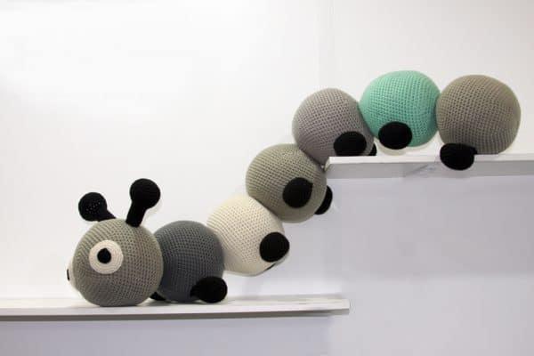 Soft Toys, Stuffed Decorative Animals, Kids' Rooms│Caterpillar