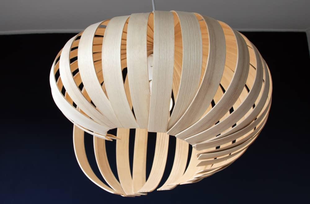 Unique Wooden Light Fixture│Pendant Light