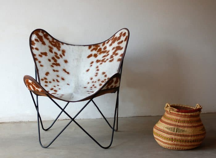 African Mid-Century Modern chair