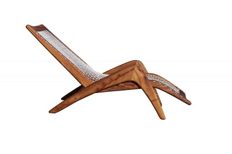 Indoor Wood Lounger