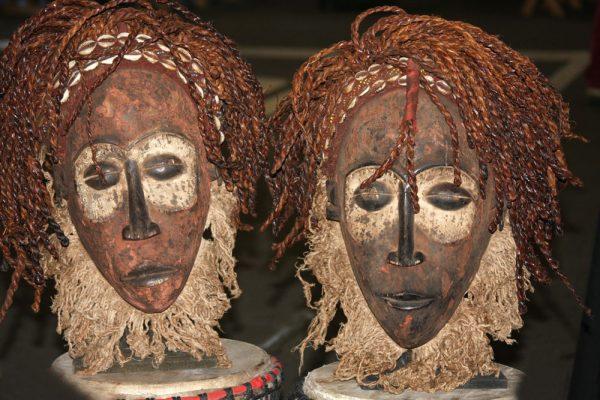 Choukoue Masks Congo