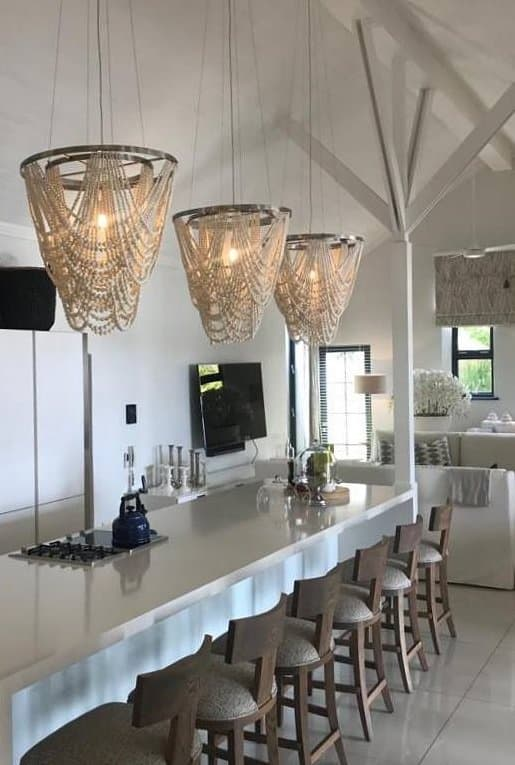 Beaded Light Fixtures