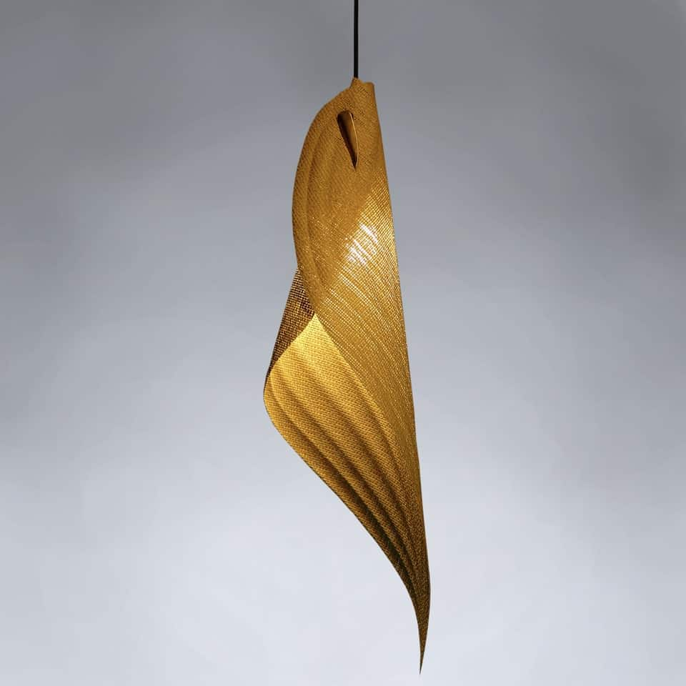 Unique Lighting│Raffia Leaf 4