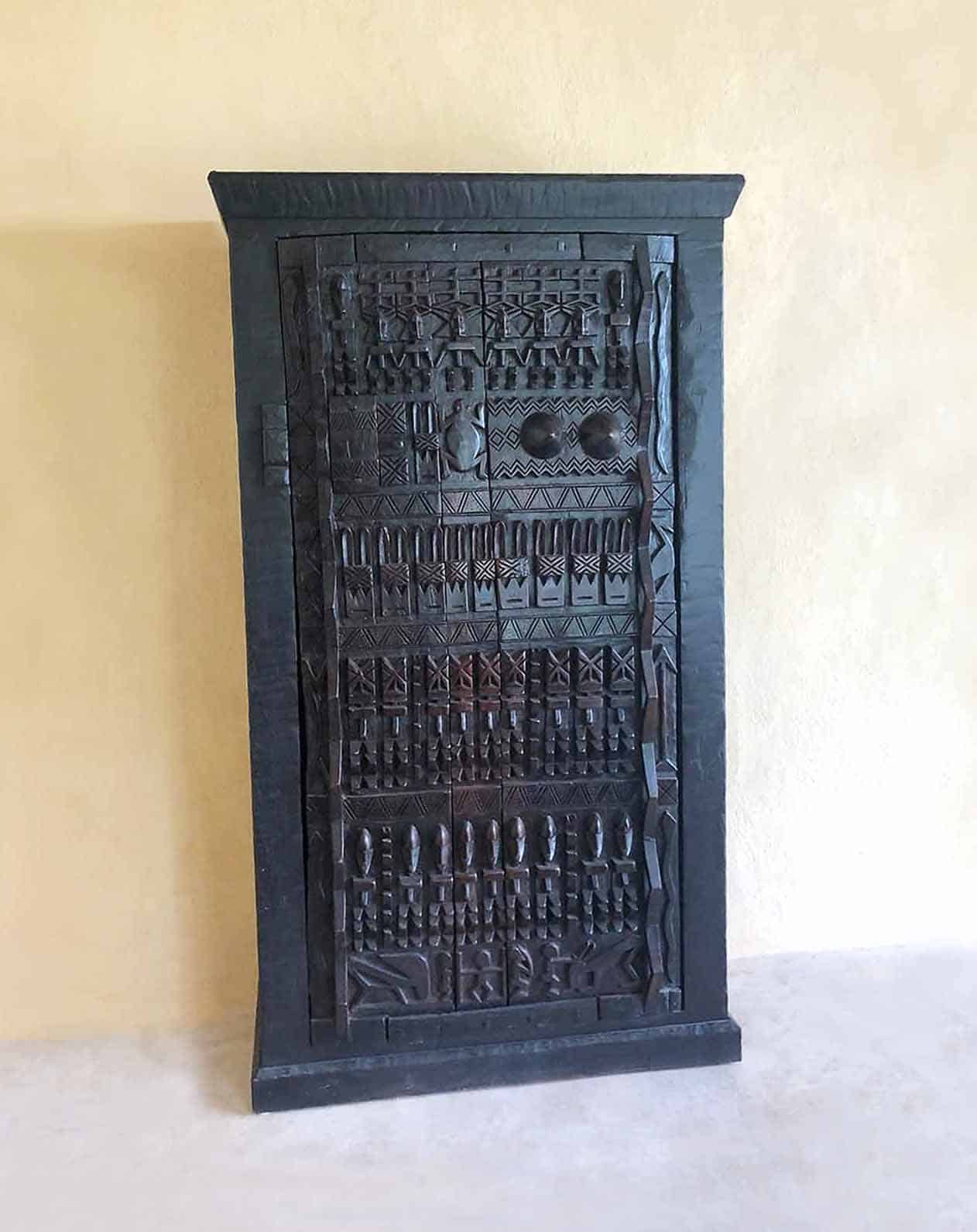 African Wood Carved Furniture 1