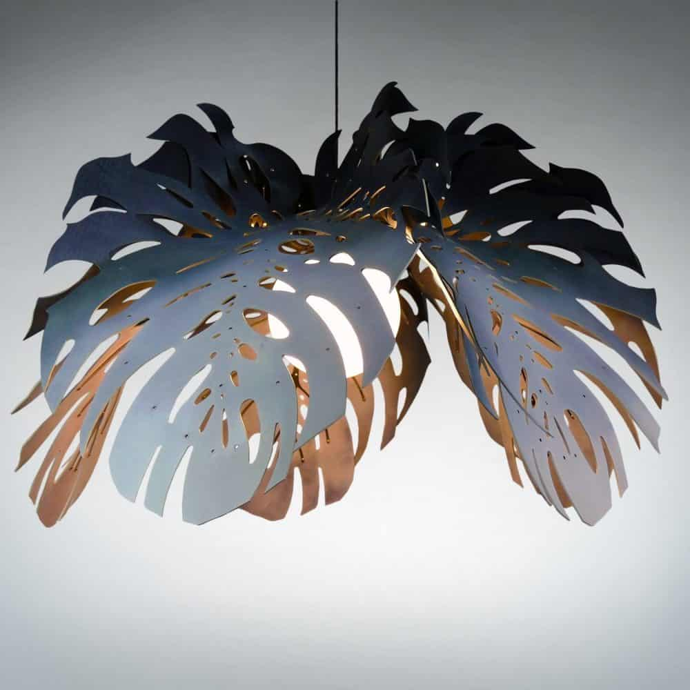 Unique Hanging Lights│Stainless Steel & Leather 7
