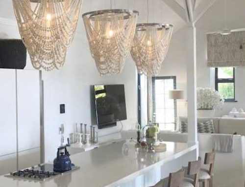 Clay Beaded Chandeliers
