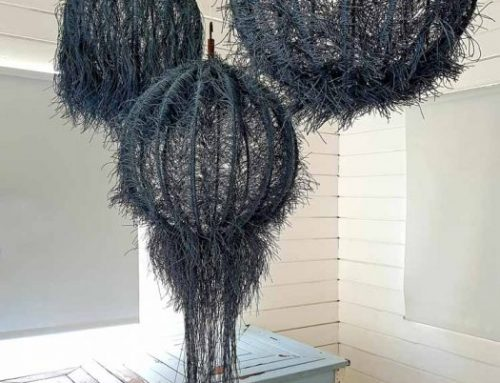 UNIQUE HANDMADE LIGHTING FIXTURE│COTTON ROPE