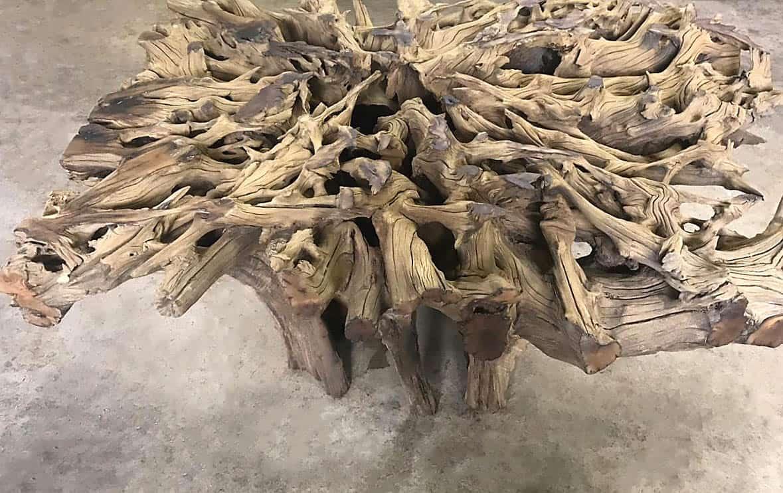 Hardwood Tree Root Table Bases 1