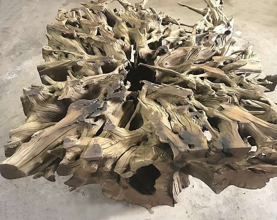 Tree Root dining room tables