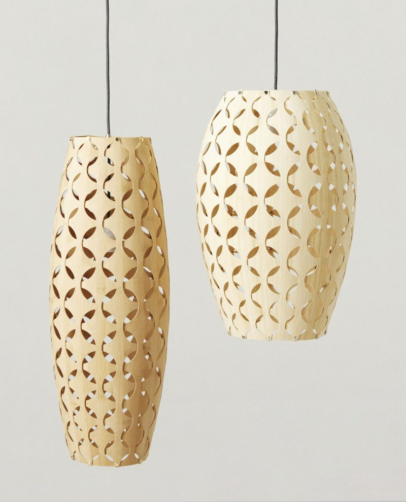 Wood & Bamboo Pendant Lights 1