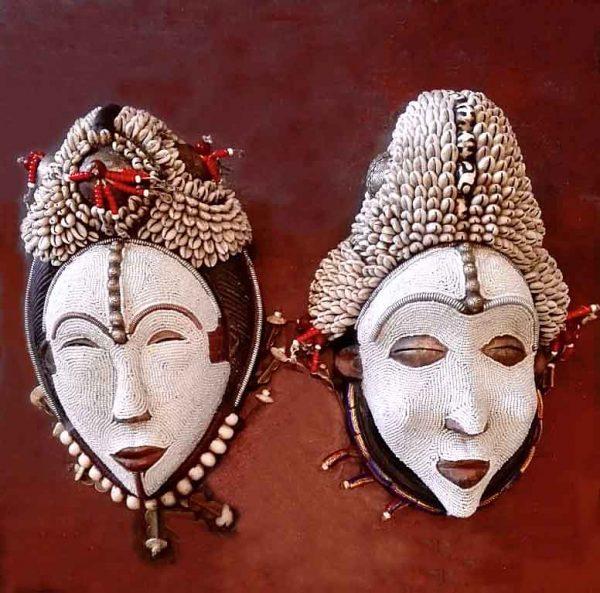 African Decorative Masks 3