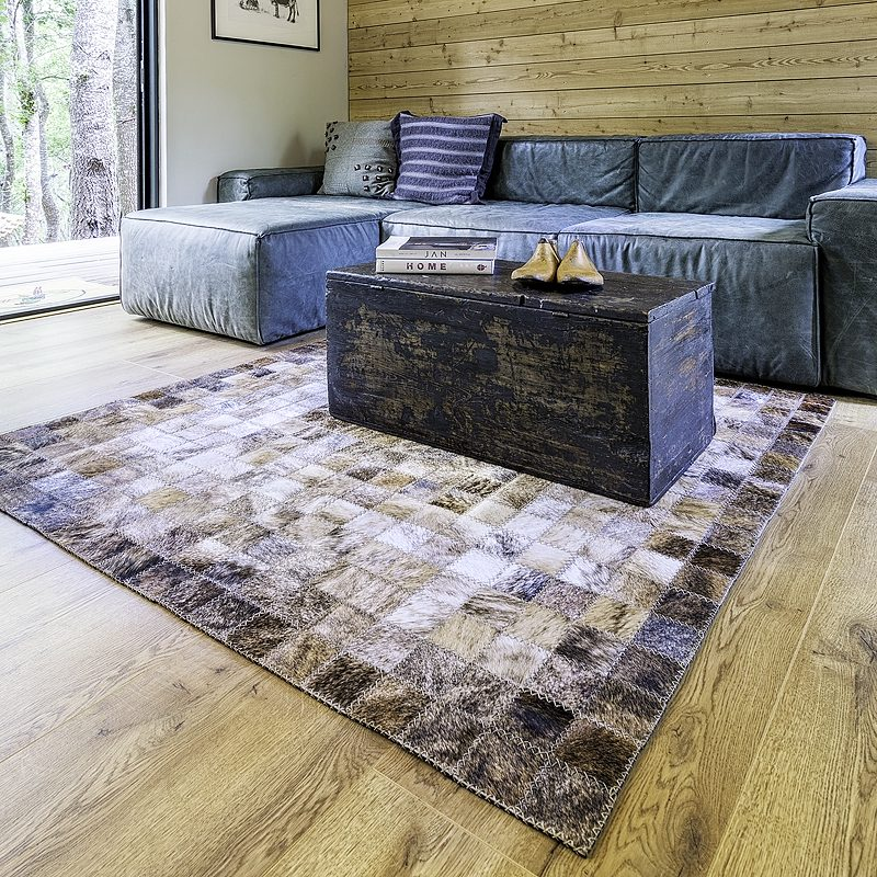 Cowhide Living Room Area Rug