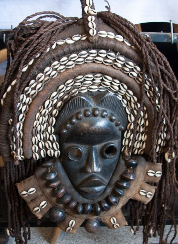 African Wall Art│Unique Masks 24