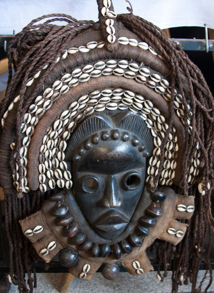 African Wall Art│Unique Masks 4