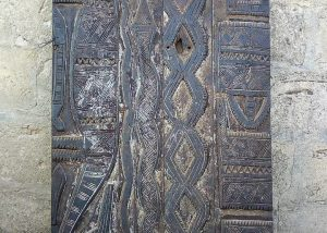 African Hand Carved Doors, Wood Panels 4