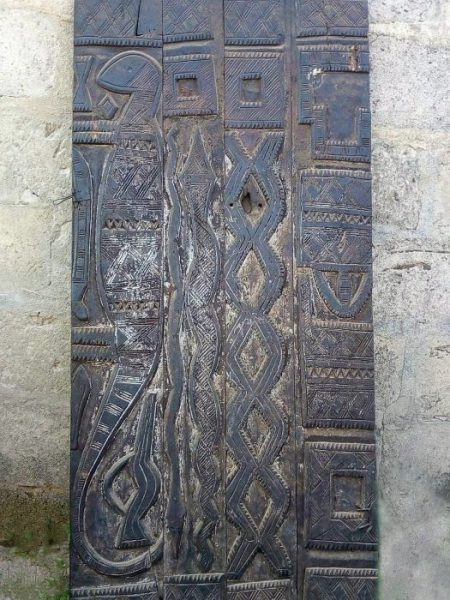 African Hand Carved Doors, Wood Panels 6