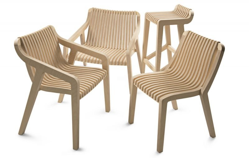 African Minimalist Urniture Wooden Chairs
