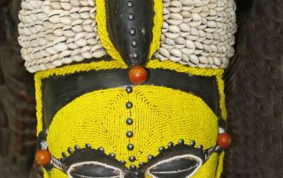 African Wall Art│Unique Masks 4