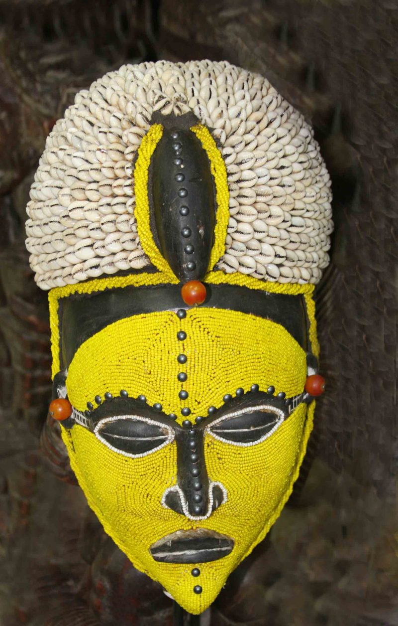 African Wall Art│Unique Masks 20