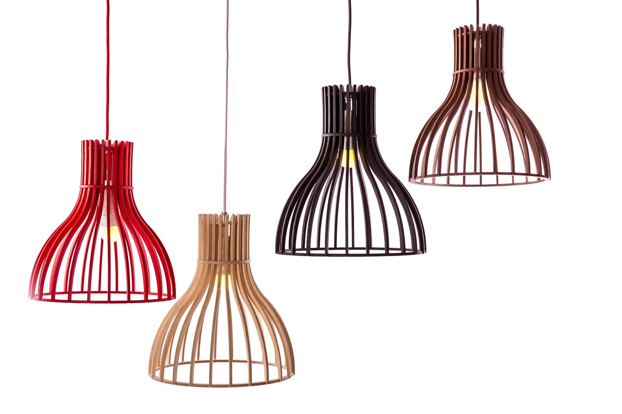 Wood & Bamboo Pendant Lights 8