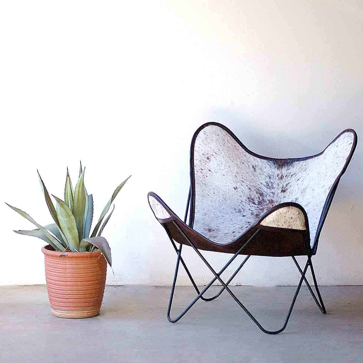 African Mid-Century Modern Chair 1