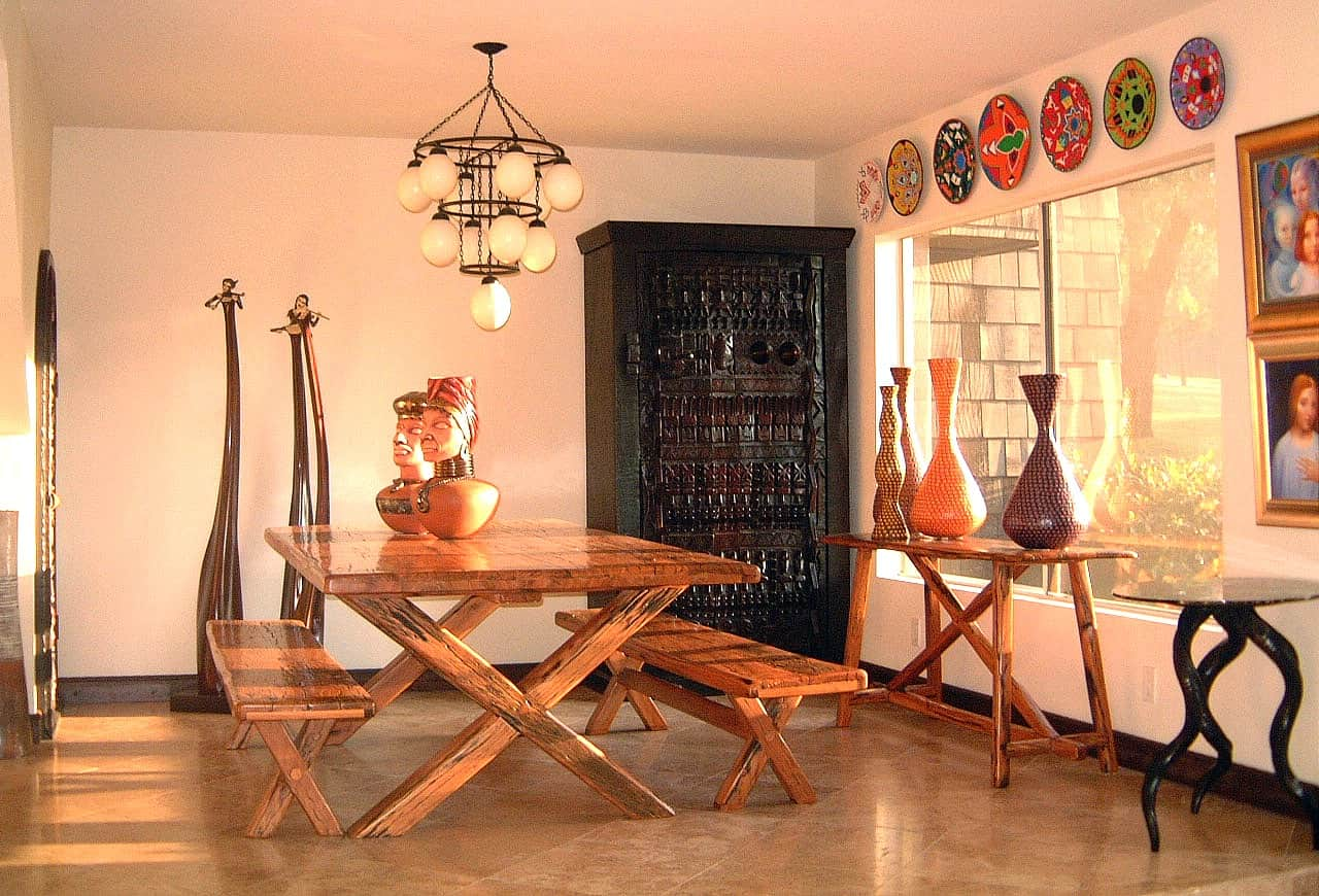 African Decor Ideas 1