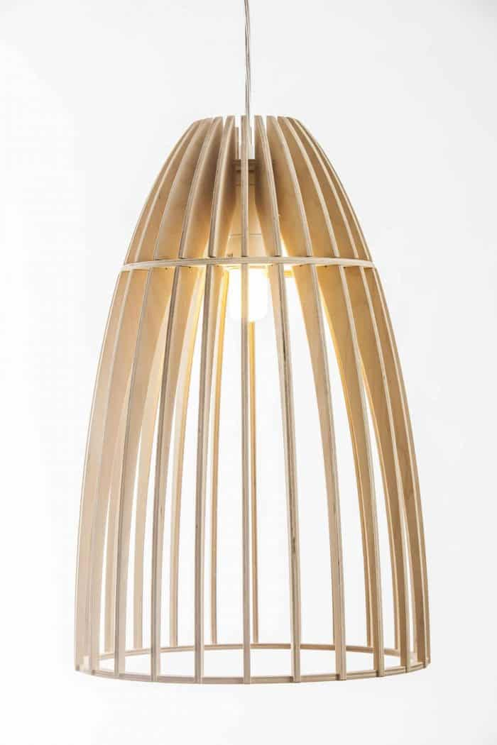 Wood & Bamboo Pendant Lights 7