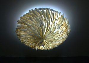 Unique Shell Light Fixture 1