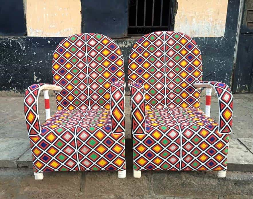 African Beaded Chairs & Decor 2