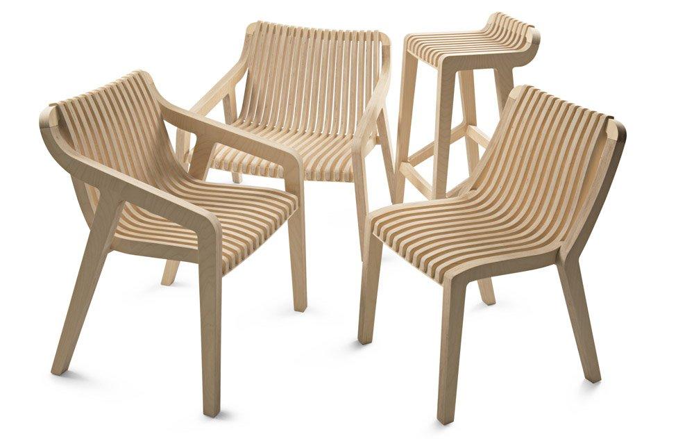 African Minimalist Wood Furniture 9